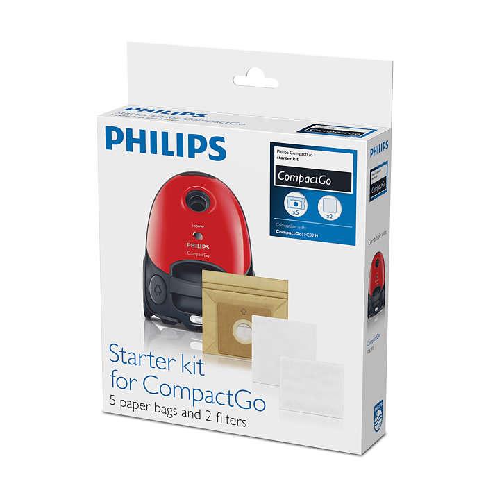 Kit inicial para CompactGo