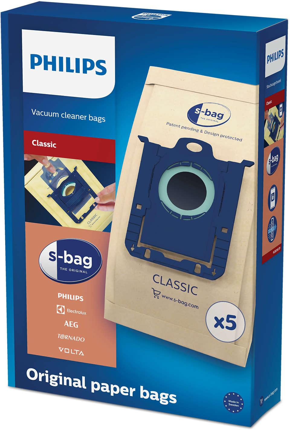 S Bag Vacuum Cleaner Bags Fc8019 01 Philips