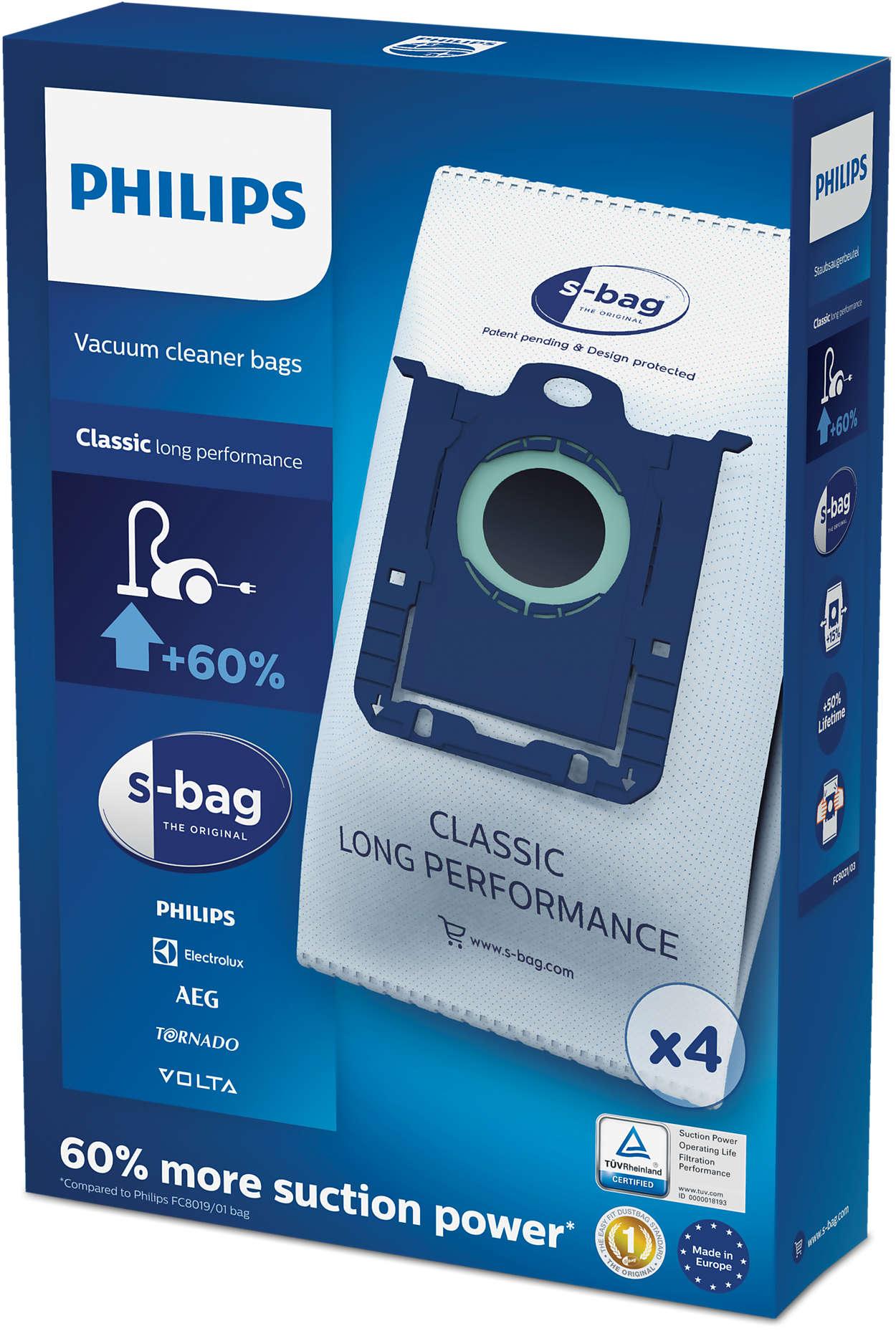 s-bag® 오래 쓰는 먼지 봉투