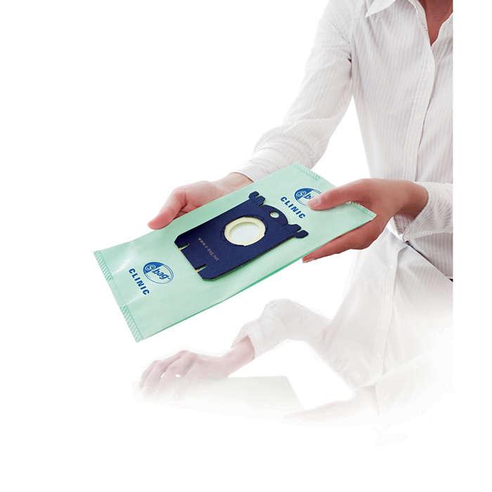 Prawdopodobnie najchętniej kupowany worek na kurz na świecie