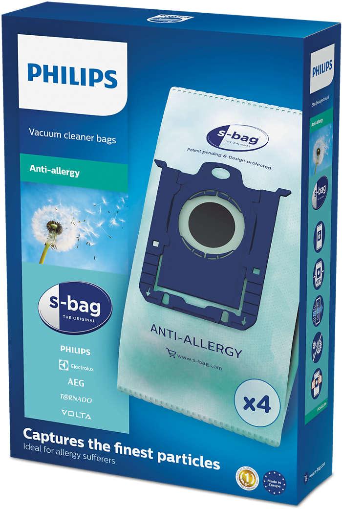 Protialergijska vrečka s-bag®
