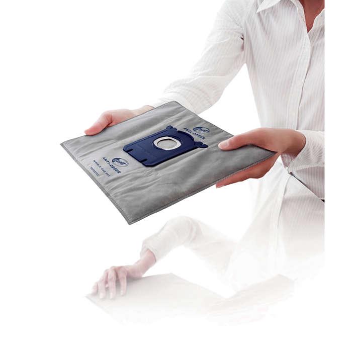 ถุงเก็บฝุ่นป้องกันกลิ่น S-bag®