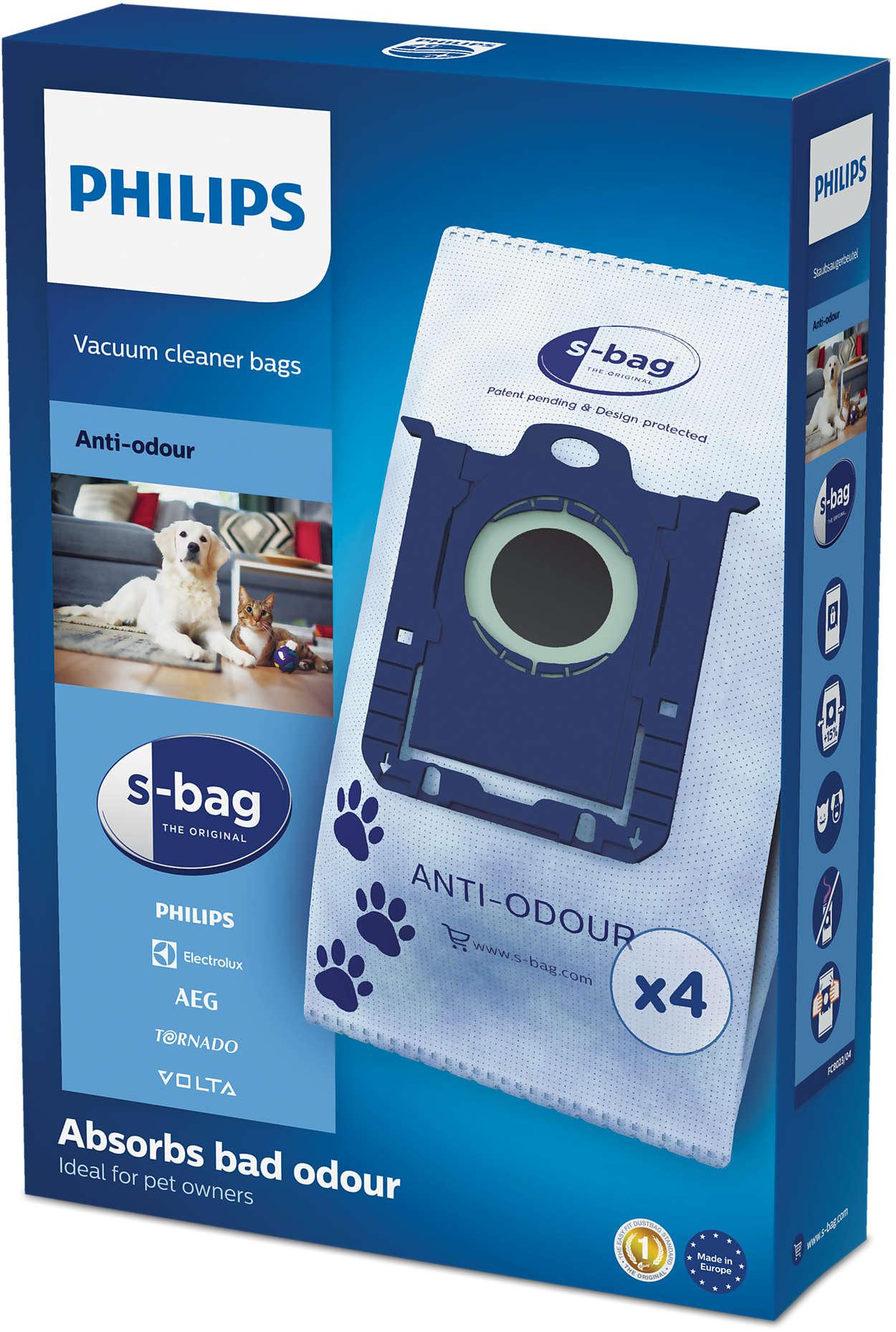s-bag® anti-odores