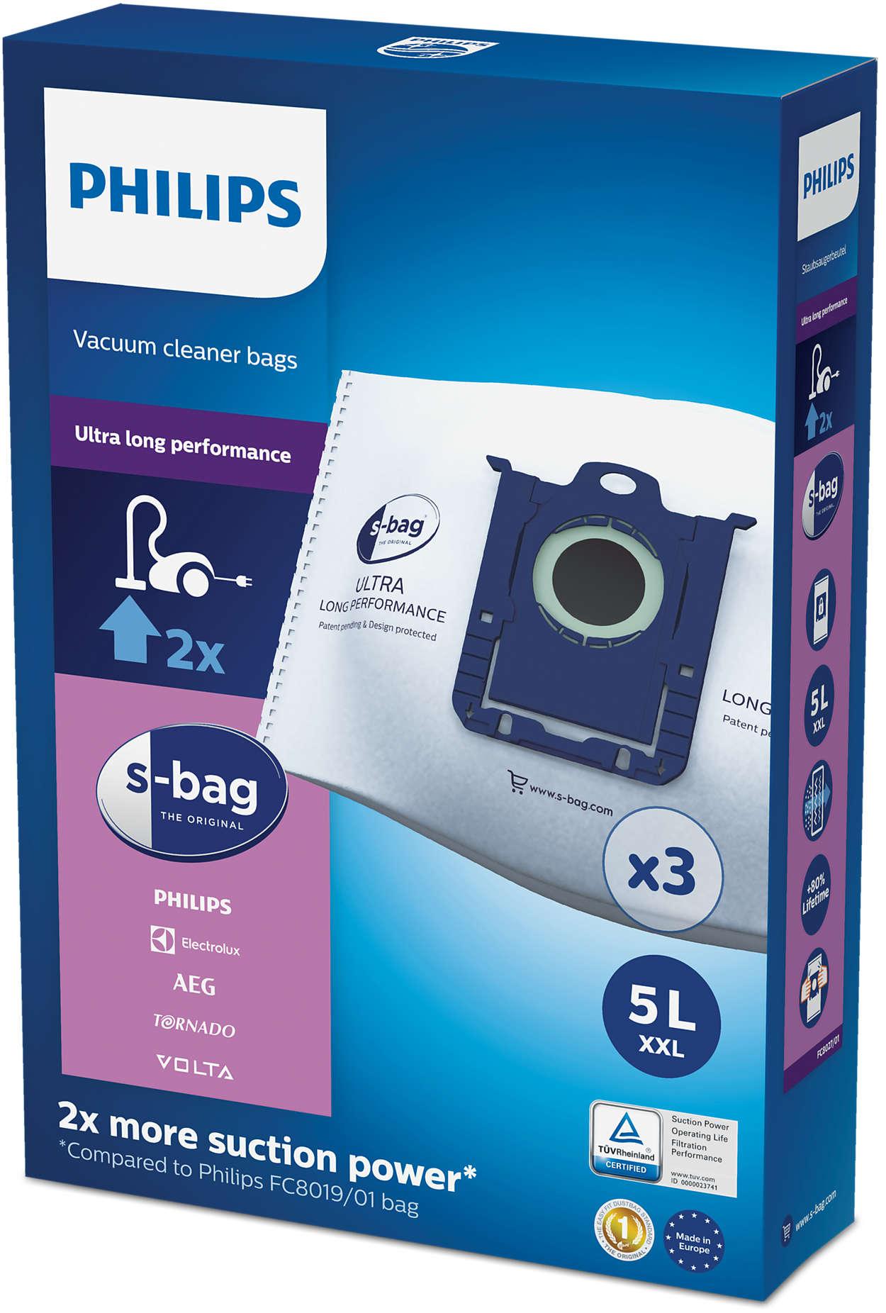 s-bag® με εξαιρετικά μεγάλη διάρκεια ζωής