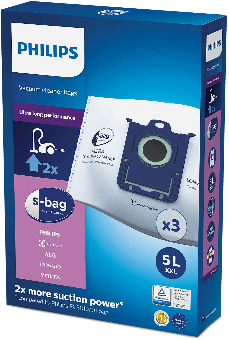 s-bag®, rendkívül tartós kialakítás