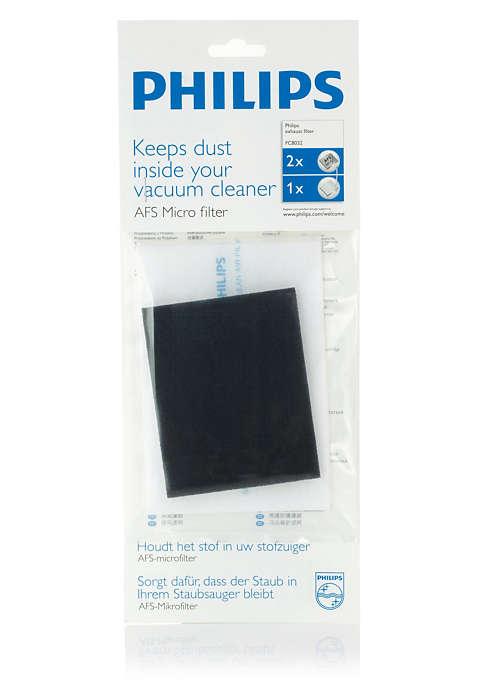 Αιχμαλωτίζει τη σκόνη μέσα στην ηλεκτρική σας σκούπα