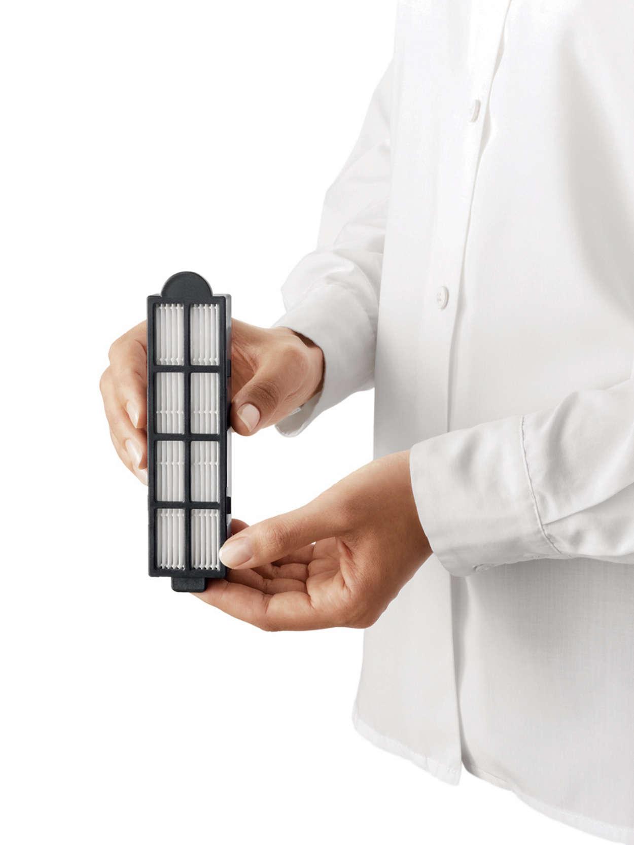 Excellent filtration