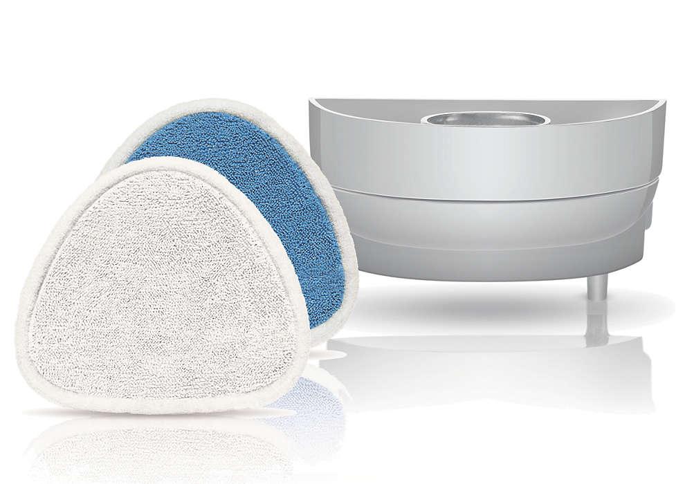 Chão verdadeiramente limpo com a potência do vapor