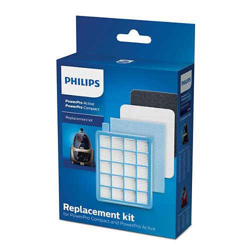 Sada filtrů pro vysavače PowerPro Active a Compact