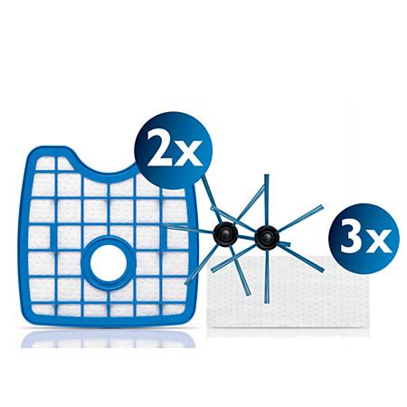 吸尘器滤网和配件