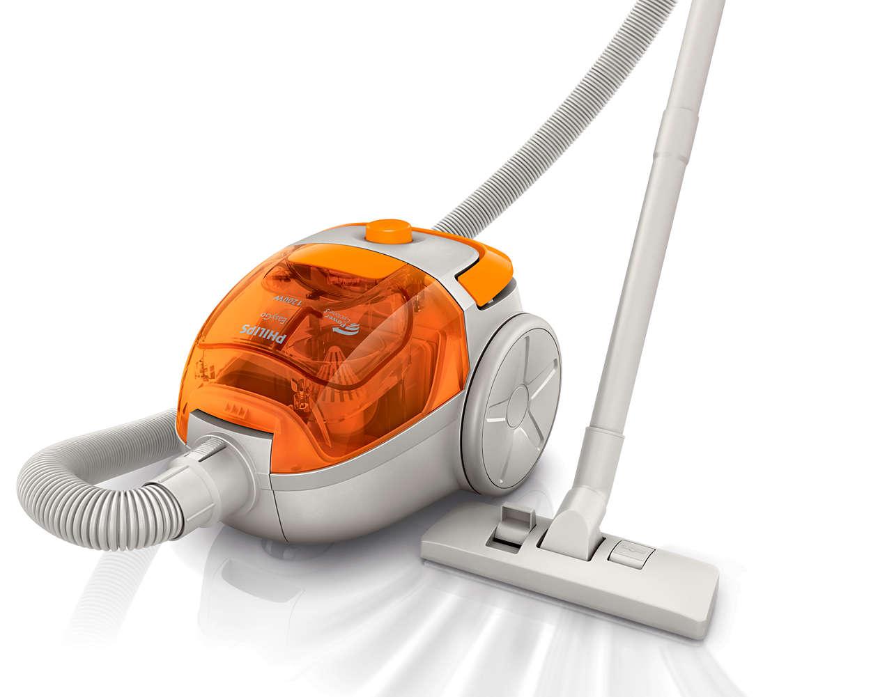 1400w bagless vacuum cleaner