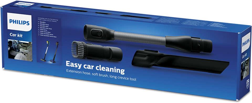 Nettoyage facile de la voiture