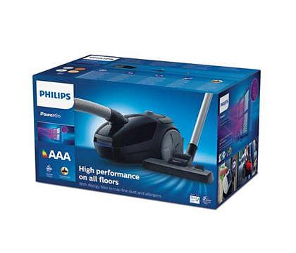 Philips Støvsuger FC824409 PowerGo | Billig