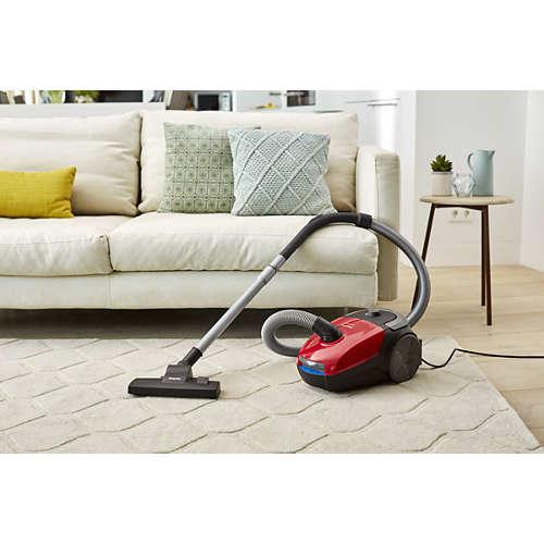 PowerGo Staubsauger mit Beutel