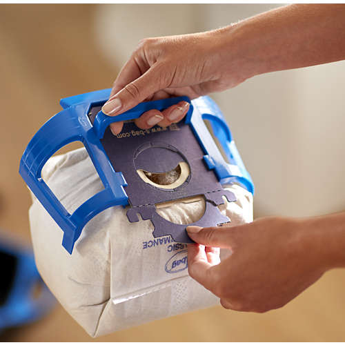 Performer Compact Staubsauger mit Beutel