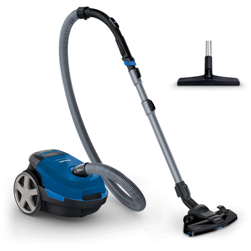 Un nettoyage compact et puissant