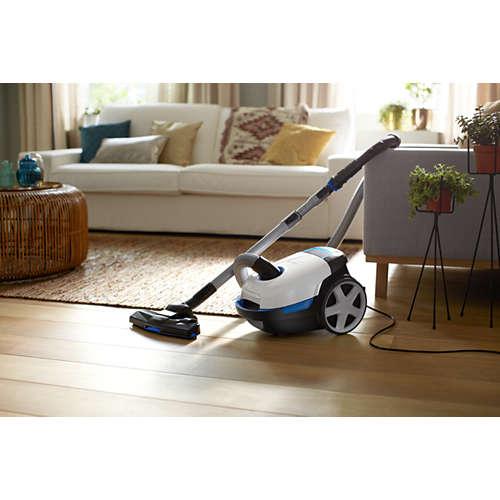 Performer Compact Aspirateur avec sac