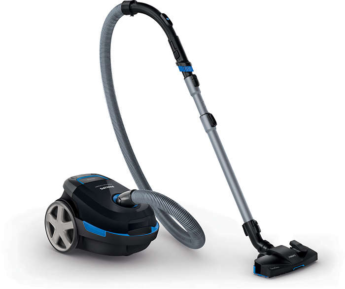 Full performance. High suction power.
