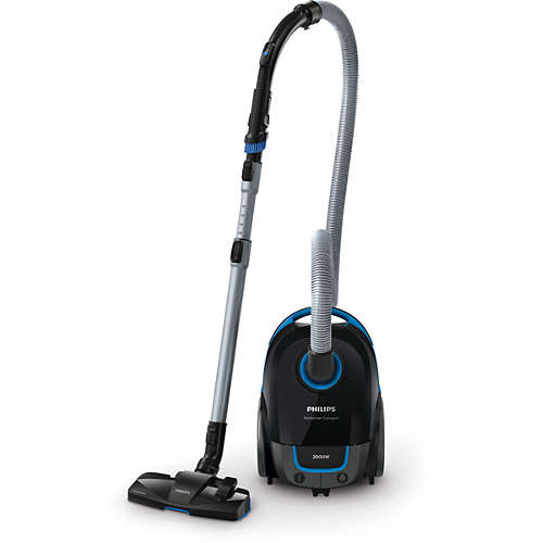Performer Compact Vacuum cleaner with bag