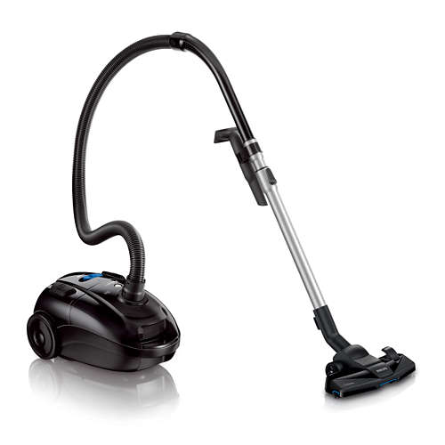 PowerLife Effektiv på både hårt golv och matta