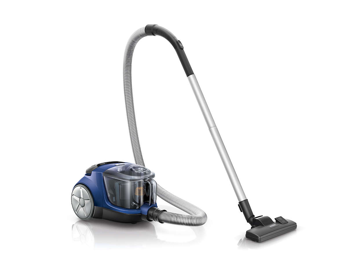 Putere de aspirare mai ridicată* pentru o curăţare mai bună