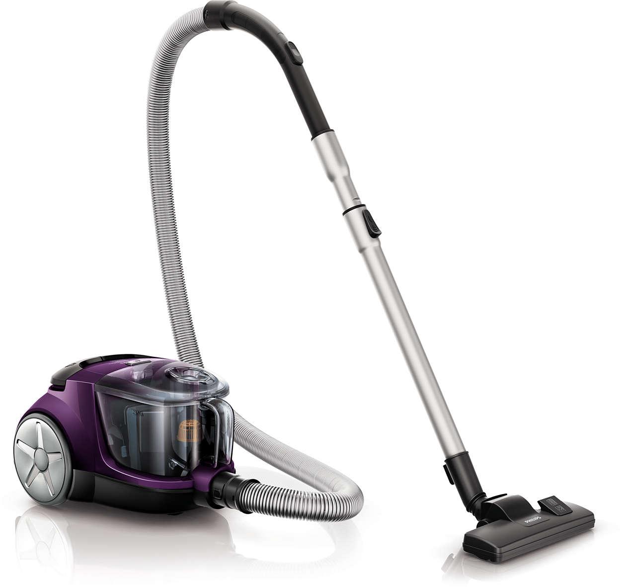 20% hogere zuigkracht* voor een betere reiniging