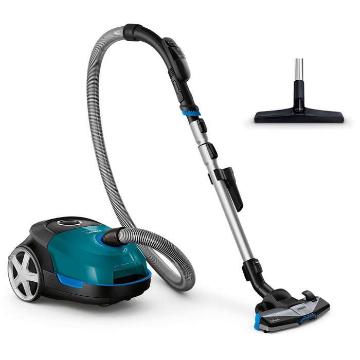 Wysoka efektywność zapewnia dokładne sprzątanie
