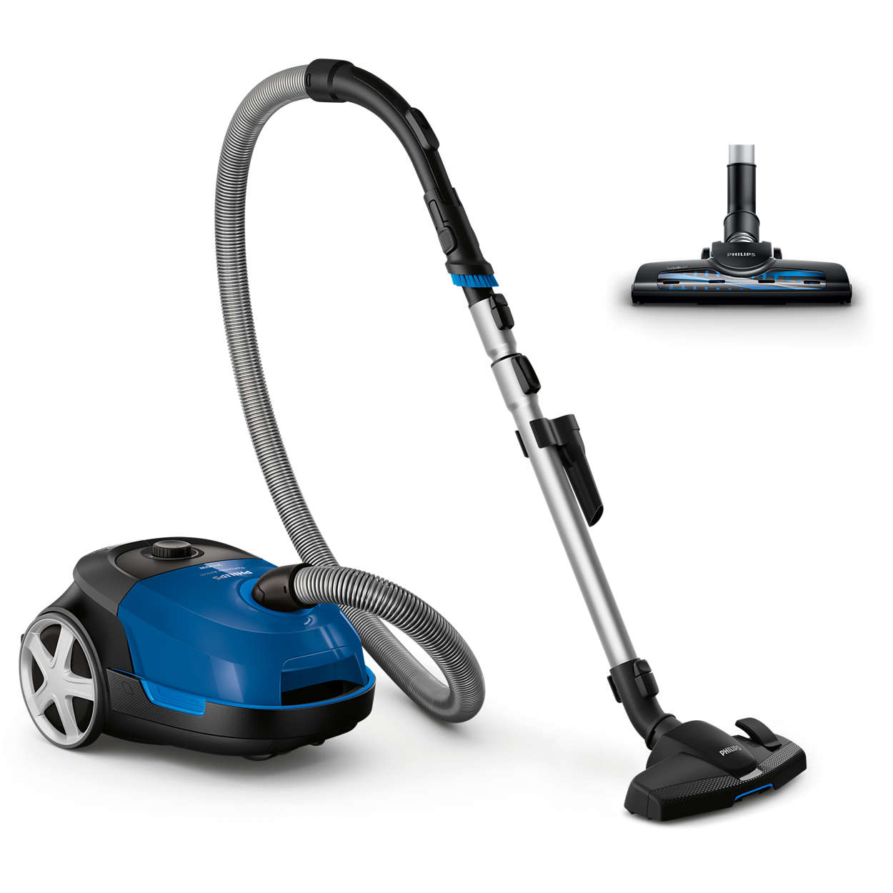 High suction power for a deep clean