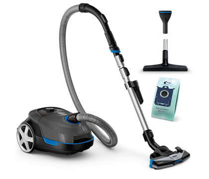 Υψηλή απόδοση για βαθύ καθαρισμό.