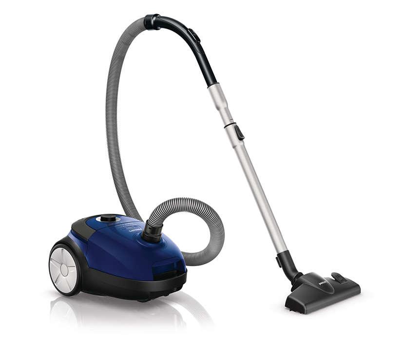 Putere maximă de aspirare pentru rezultate mai bune de curăţare*
