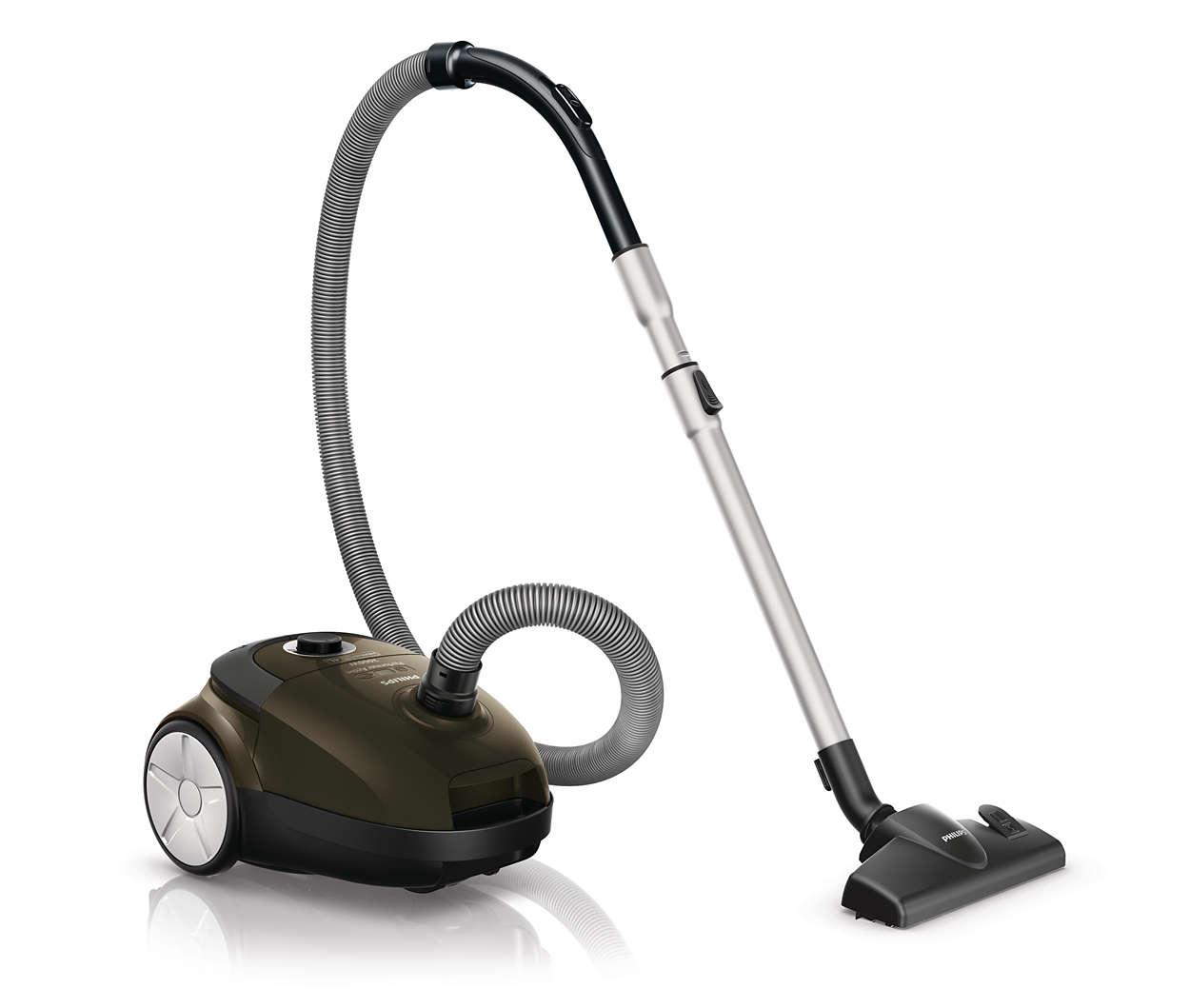 Maksimal sugeeffekt for bedre rengjøringsresultater*