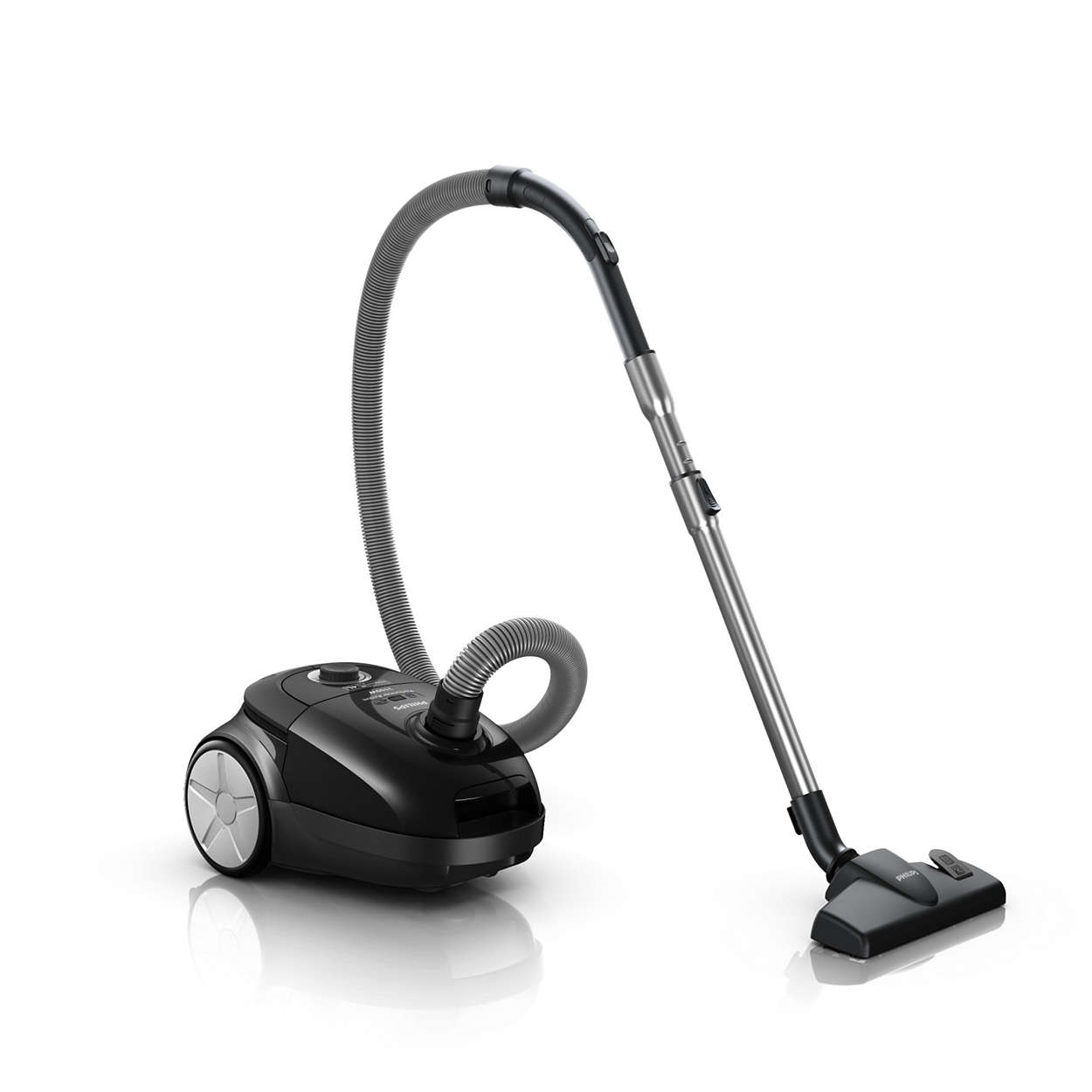Maximum suction power for better cleaning results*