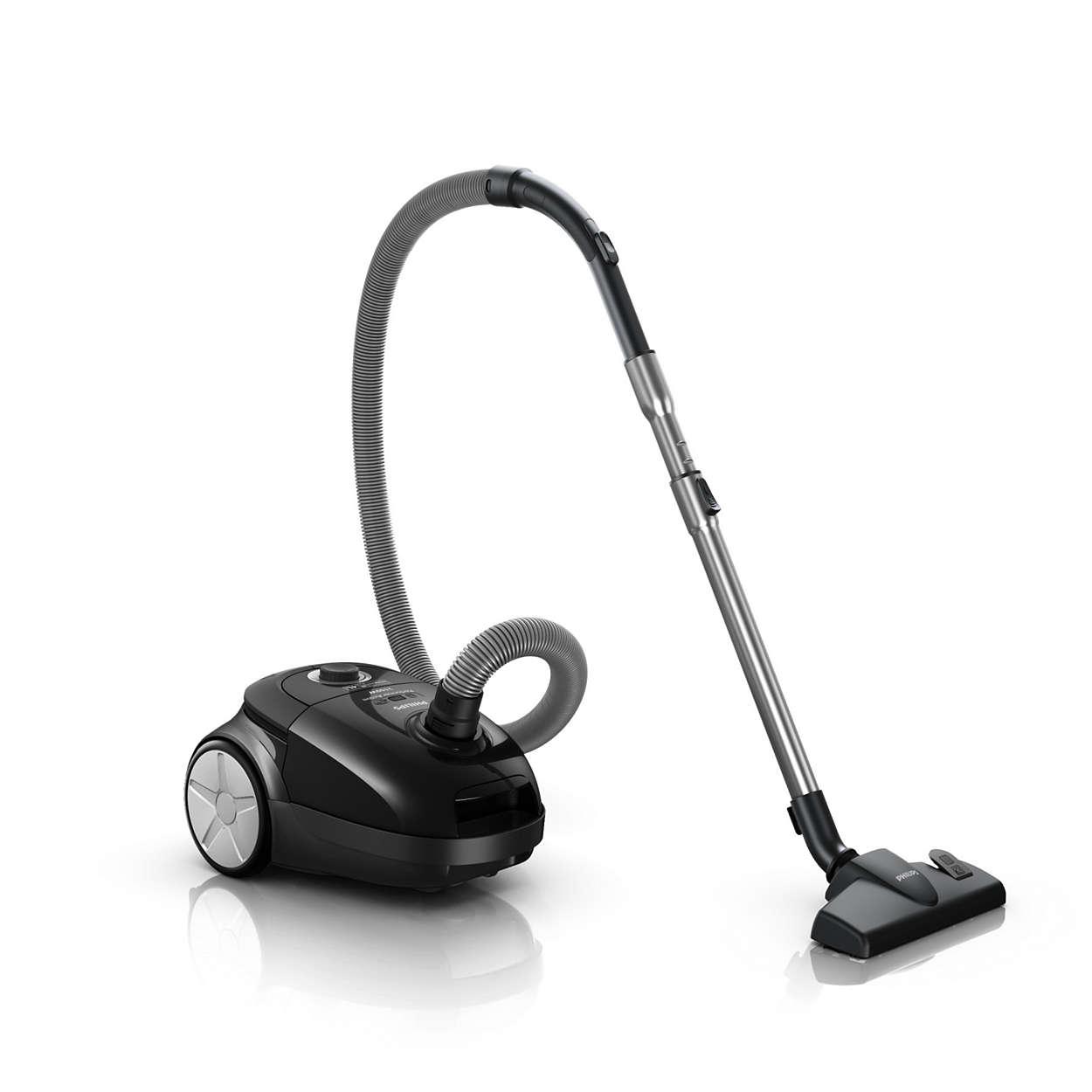 Hervorragende Saugkraft für ein besseres Reinigungsergebnis.*