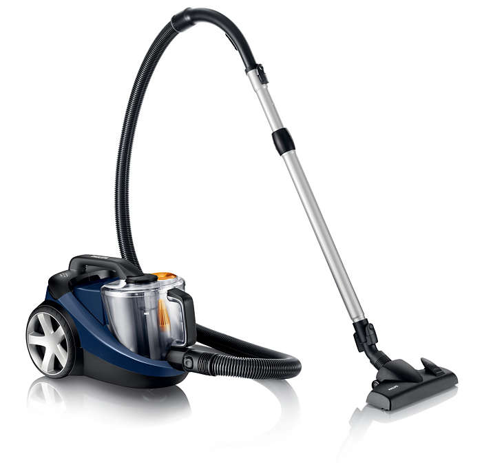Effortless cleaning, powerful performance