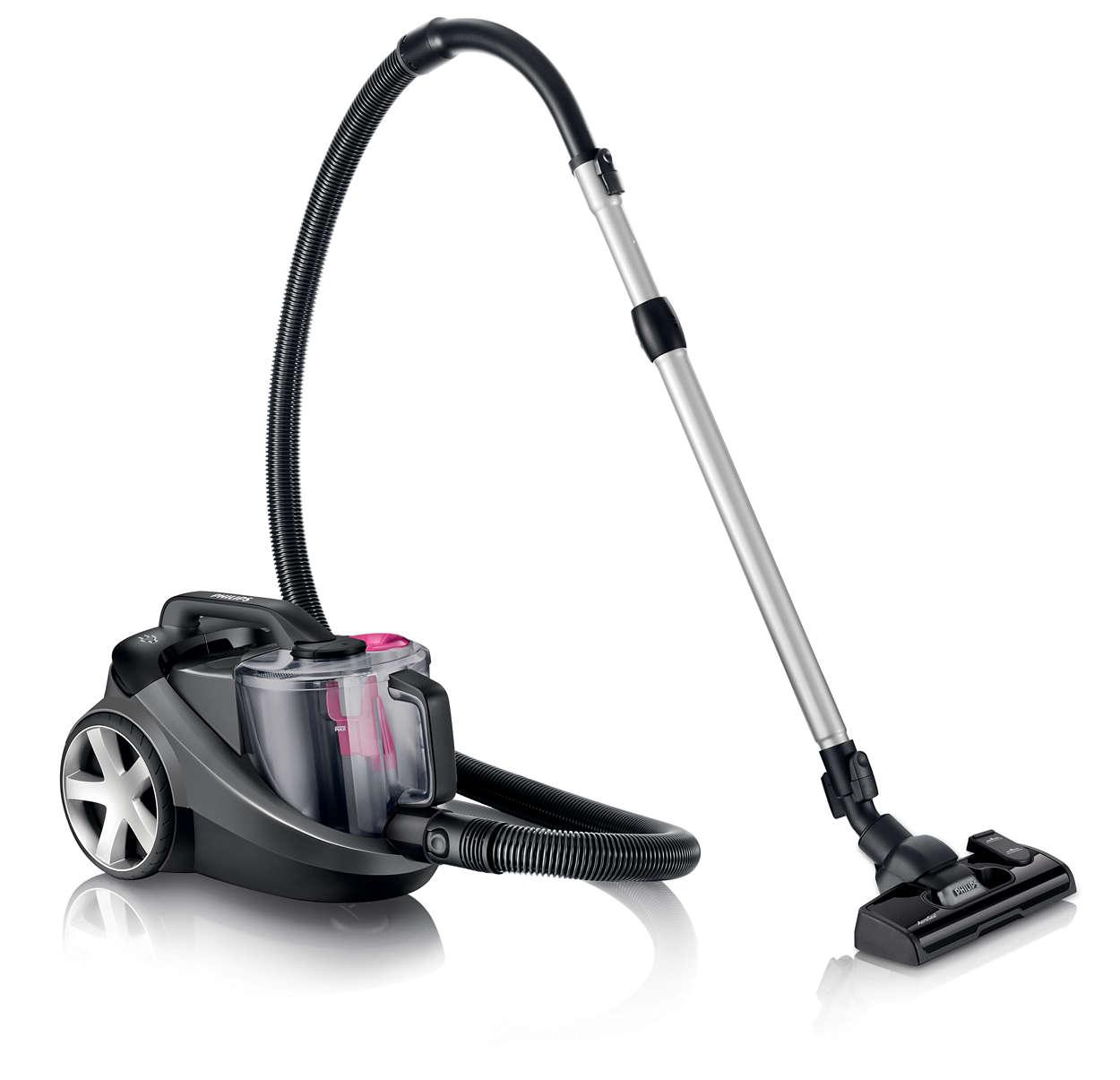集塵效果提高 40%,清潔效果更好