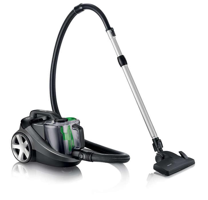 Recolha de pó 40% superior para uma melhor limpeza