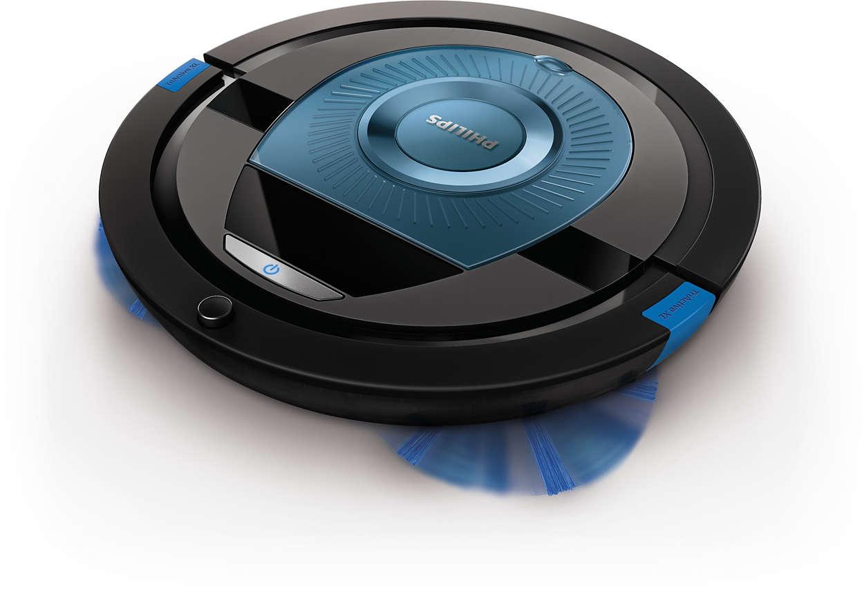 Plnohodnotný výkon. Inteligentné čistenie.