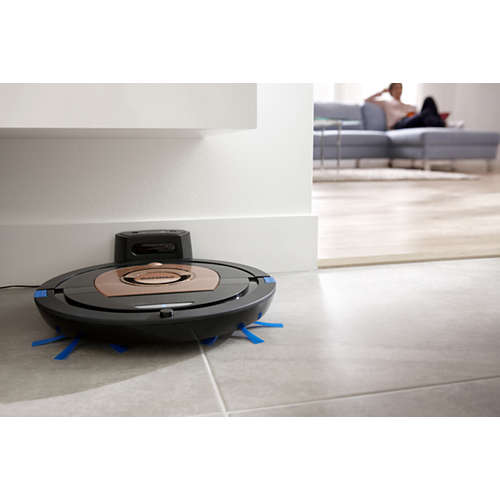 SmartPro Compact Aspirator robot