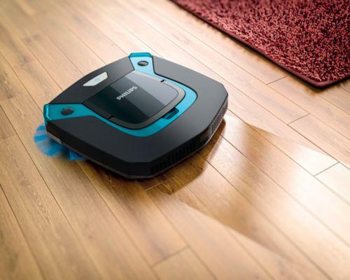 Buy Ultra Slim Design Robot Vacuum Cleanerfc879401 Online Philips