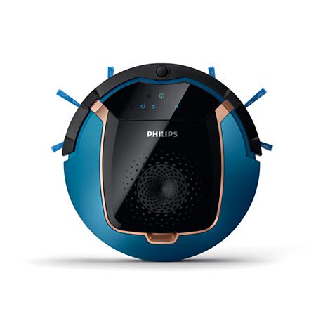 Philips dulkių siurbliai robotai