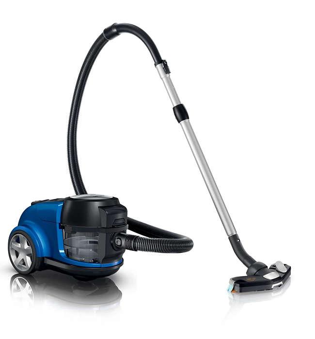 3x czystsze podłogi dzięki działaniu wody