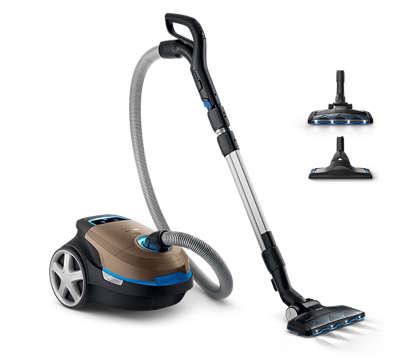 Popolna zmogljivost za globlje čiščenje.