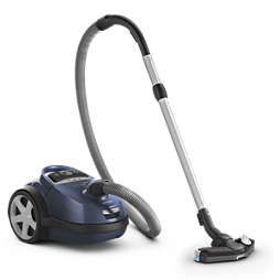 Performer Vacuum cleaner with bag