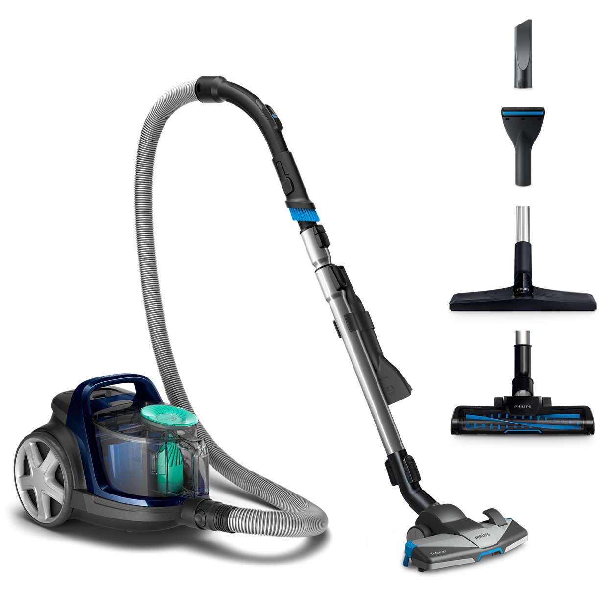 Poseløs støvsuger – grundig rengjøring uten pose   Electrolux