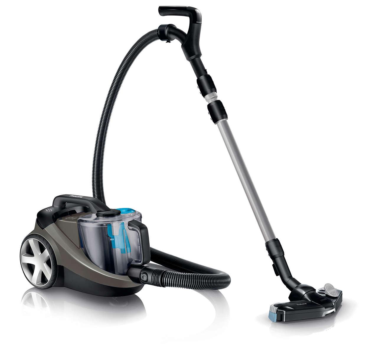 Bagless Vacuum Cleaner Fc9714 61 Philips