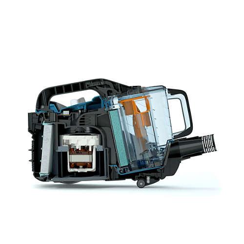 PowerPro Expert Dammsugare utan påse