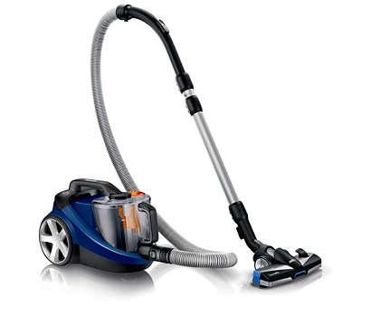 Recogida de un 40% más de polvo* para una mejor limpieza