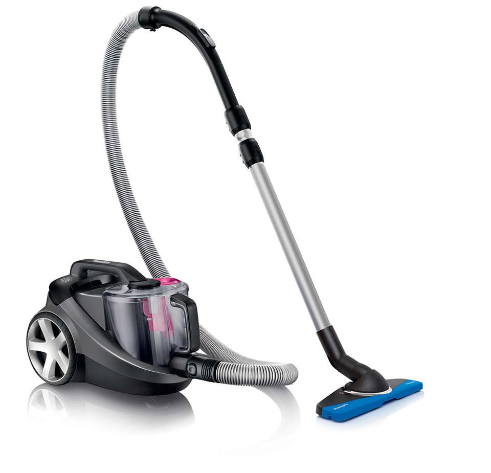 Posesa 40 % več prahu* za boljše čiščenje