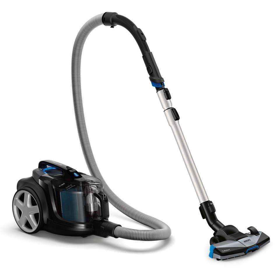 Собирает и удерживает 99% мелкой пыли.*