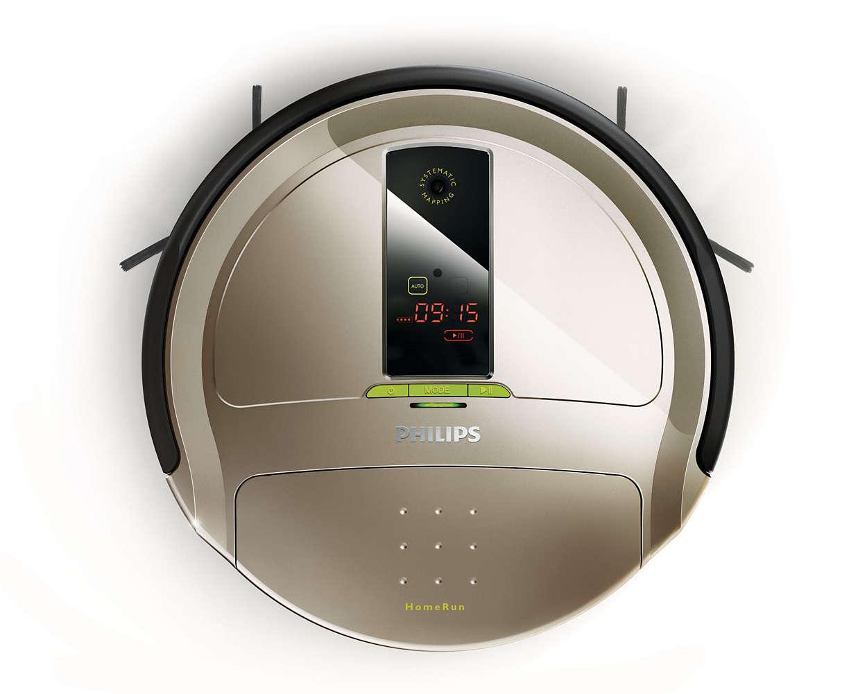 El robot que limpia el suelo todos los días